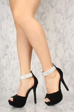 681b30866d6b Rhinestone high heels