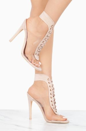 lace up front high heel. Tap to expand 9a183d8f4