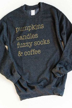 Graphic Tee Pumpkin andThings Sweater