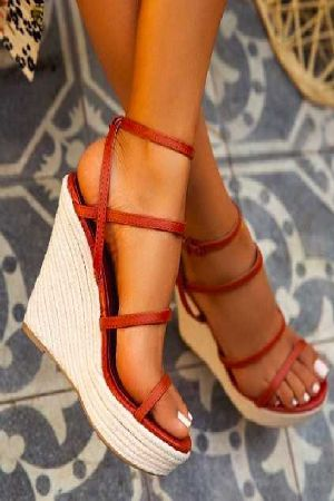 Cute strappy wedges