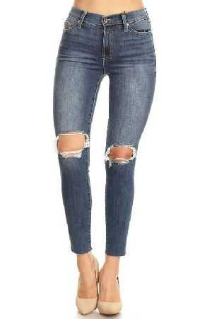 Kendall And Kylie high waist skinny