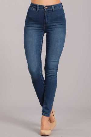 Kendall And Kylie ultra high clean front skinny
