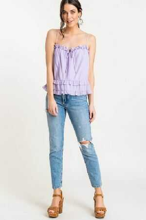 Frill Tiered Cami Top