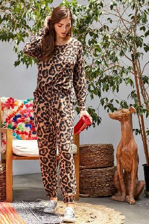 Long Leopard Print Set