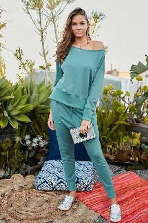 Long Sleeve French Terry Top