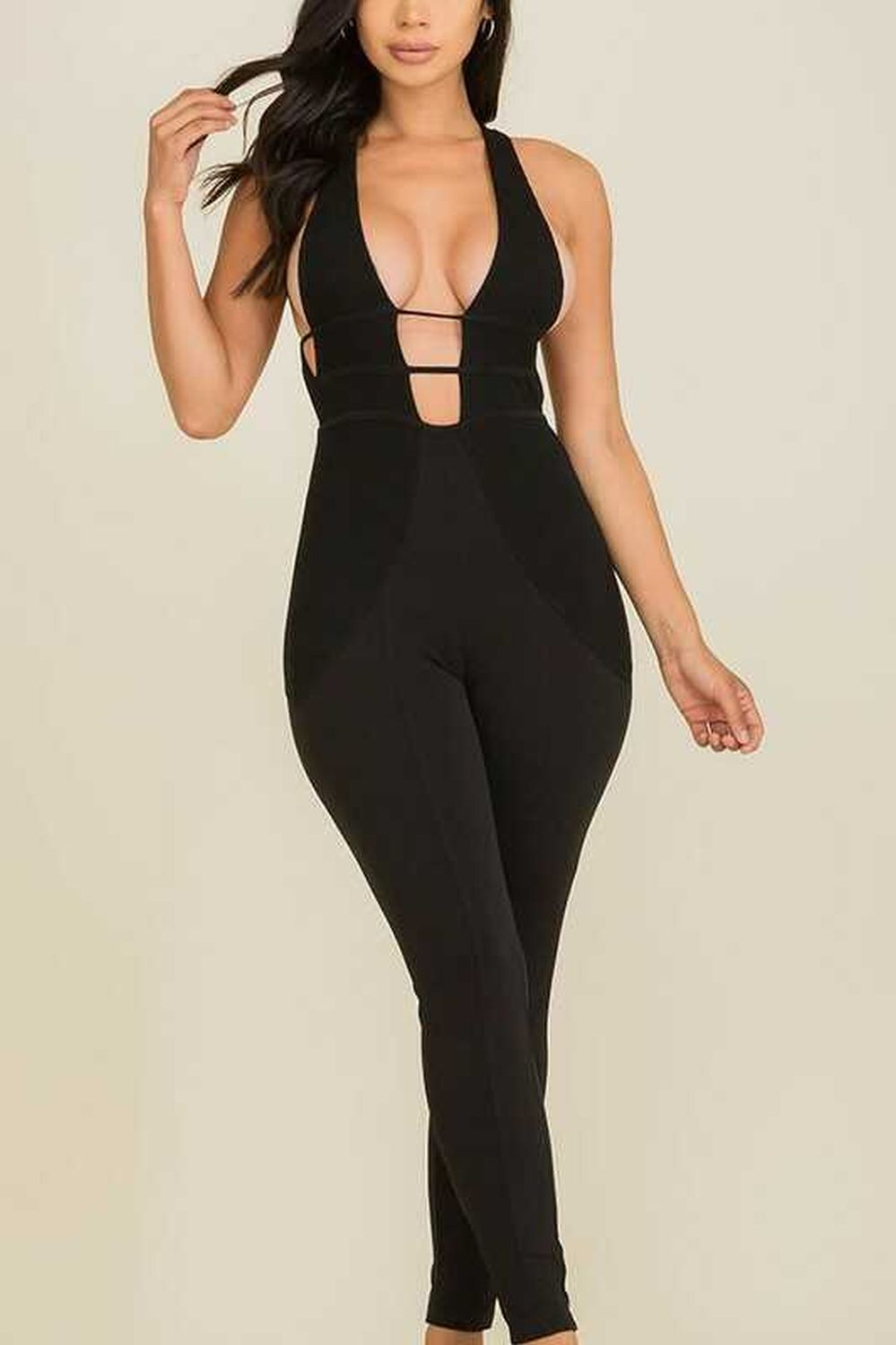 Bodycon Jumpsuits and Rompers