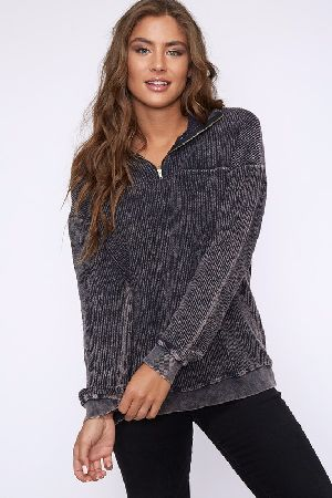 Basic corduroy pullover