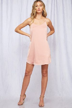 Basic woven slip dress