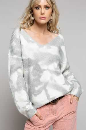 Hand dipped sweater