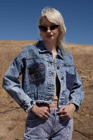The Aztec Walker Denim Jacket